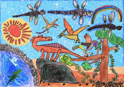 第34回 環境大臣賞(小学1年生の部)